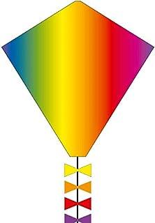 Aquilone monofilo: Eddy Rainbow 50 cm HQ-Invento, cavo su maniglia incluso. Invento HQ 102102