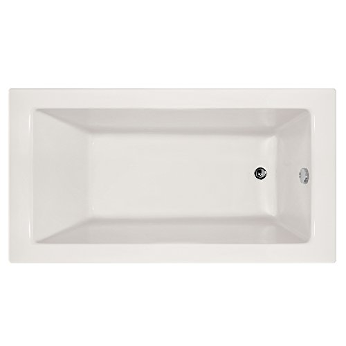 Hydro Systems SYD6032ATA-WHI-RH-WOV.PC Sydney Acrylic Tub with Thermal Air System (Right Hand Drain Included), White/Polished Chrome