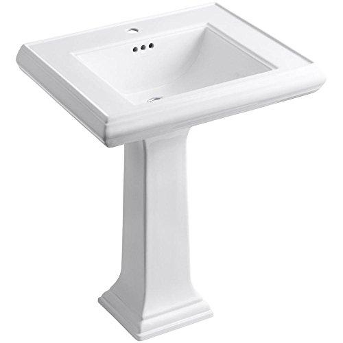 Kohler K-2258-1-0 Memoirs Bathroom Sink, White