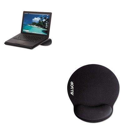 KITASP29591ASP30203 - Value Kit - Allsop Cool Channel Notebook Platform (ASP29591) and Allsop Memory Foam Mouse Pad with Wrist Rest (ASP30203) ()
