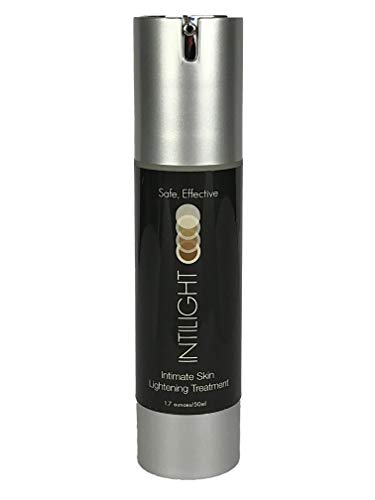 Intilight Skin Lightening & Bleaching Cream for Whitening Face, Neck, Underarm, Bikini, Inner Thigh & Private Areas. Dermatologist Developed for Hyperpigmentation, Melasma Treatment 1.7 oz./50ml