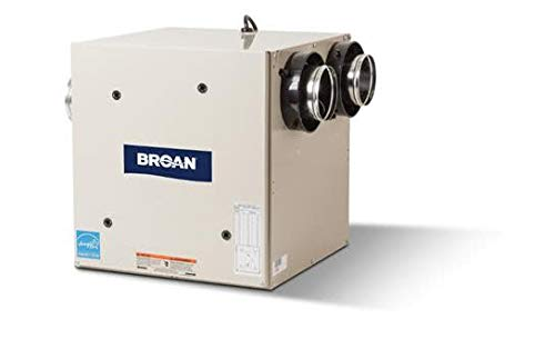 Broan HRV90S 90 CFM Heat Recovery Ventilator with Side Ports