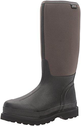 Bogs Men's Rancher Cool Tech-M Snow Boot, Black/Gray, 12 M US by Bogs