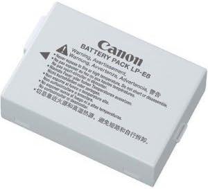Canon LP-E8 - Batería Recargable para cámaras Canon EOS 600D, EOS 650D y EOS 700D, Color Gris