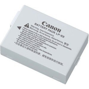 Canon LP-E8 Chargeur Gris