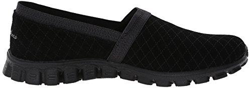 Flex Sport On Slip Skechers EZ Women's Sneaker Tweetheart Blackk zxgtwqBT