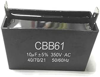 ITACO 16UF 350V Generator Motor Capacitor 16.5uF 15.5uF CBB61 Condenser 50 60 Hz 350 VAC UL AVR