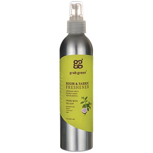 GRAB GREEN Thyme Room Fabric Freshener, 0.02 Pound