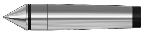 Röhm 17172 Type 667 Carbide Tipped Full Point Dead Center, Morse Taper 3, 24.1mm Point Diameter, 125mm Length by Röhm