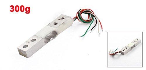 eDealMax 300G 4-filaire Rectangle en alliage d'aluminium Mini Capteur de pondération de Cellule de Charge