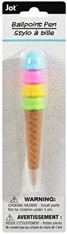 Jot Ice Cream-Shaped Ballpoint Pens 5.25 x 0.75 inchex