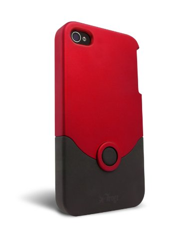 iFrogz Luxe Original Case for iPhone 4 - Red/Black