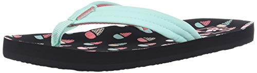 Reef Girls AHI Sandal, ice Cream, 2-3 Medium US Little Kid ()
