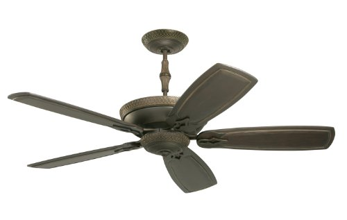Emerson Ceiling Fans CF830GES Monaco Indoor Ceiling Fan With Wall Control, 60-Inch Blades, Light Kit Adaptable, Golden Espresso Finish