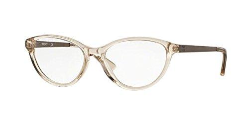 Donna Karan Frame (DKNY DY4671 Eyeglass Frames 3697-52 - Beige Crystal/satin Tobacco)
