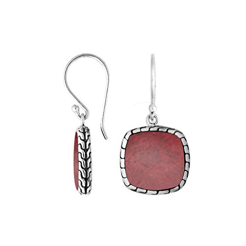 Sterling Silver Earring with Coral AE-6257-CR ()