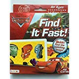 Disney Cars Find It Fast! Card Game (48