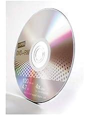 Staples 10/PK 4.7GB DVD+RW Slim Jewel Cases 4X