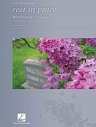 Hal Leonard Rest in Peace-40 Memorial Songs (P/V/G)