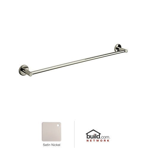 - Rohl LO1/18STN As426 Lo1/18 Lombardia 18 Towel Bar, Satin Nickel by Rohl
