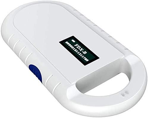 LBH - Lector de chips de animales, chip RFID, microchip, animales, transpondedor ISO para identificación de animales