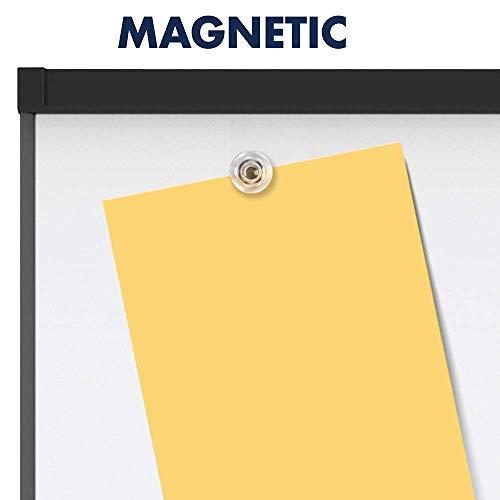 Quartet Easel, Magnetic, 6' x 4', Reversible, Whiteboard/Flipchart, Prestige 2 Mobile Presentation, Graphite Frame (ECM64P2) (Renewed) by Quartet (Image #7)