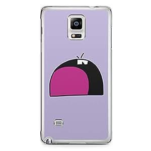 Smiley Samsung Note 4 Transparent Edge Case - Design 10