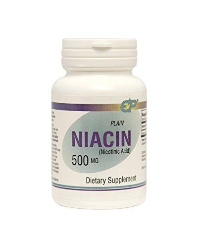 Plain Niacin 500mg Immediate Release product image