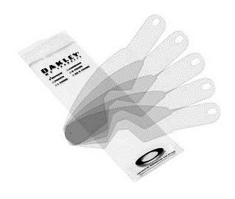 Oakley Mayhem MX Standard Tear-Off (Pack of 25) (Clear, One - Oakley Mountain Bike