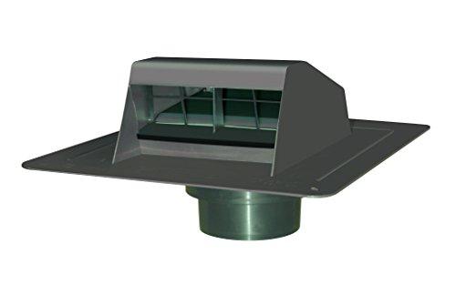 Canplas Duraflo 6013BR Roof Dryer Vent Flap with ATT Coll...