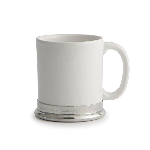 Arte Italica Tuscan Ceramic Mug, White