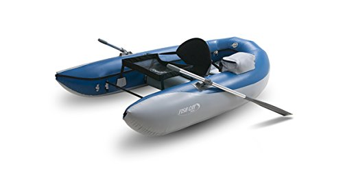 Fish Cat Scout Frameless Fishing Boat Dark Blue/Light Grey, One Size by Outcast Boats