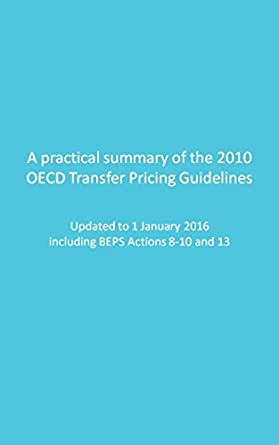 oecd transfer pricing guidelines 2010 summary