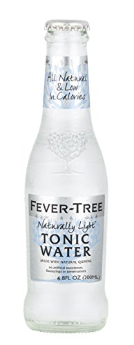 Fever-Tree Naturally Light Tonic Water, 6.8-Ounce Glass Bottles (Pack of 24)