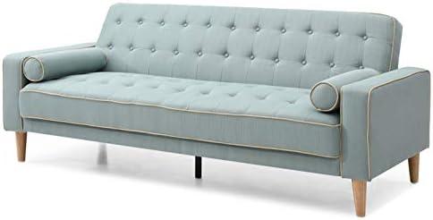 Amazon.com: Glory Furniture G833A-S Futon Sofa Bed, Teal ...
