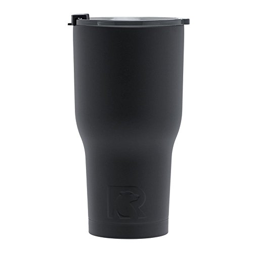 RTIC Double Wall Vacuum Insulated Tumbler, 30 oz, Black