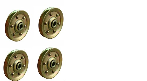 Extra Heavy Duty Garage Door Pulley - 3 INCH 200LB (4 Pack)