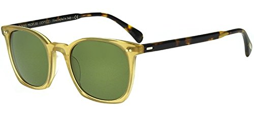 Oliver Peoples L.A. Coen Sun (SLB/VDTB, Green C Mineral - Oliver Peoples Logo
