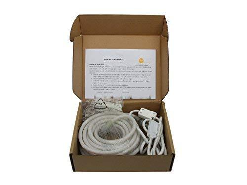 10Ft Rope Lights; Pearl White LED Rope Light Kit; 1.0