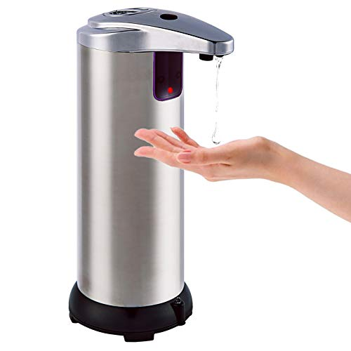 Bon Enjoy Automatic Soap Dispenser Touchless Liquid Soap Dispenser Equipped with Stainless Steel Infrared Motion Sensor…