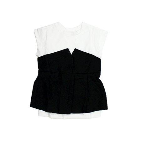 当店オリジナル LUY SIORA【ルイシオラ】DV/001318 ビスチェ付き ドッキング Tシャツ