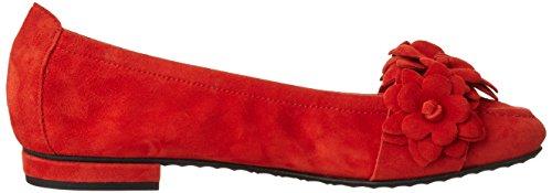 Kennel und Schmenger Schuhmanufaktur Malu, Bailarinas para Mujer Rot (kirsche)