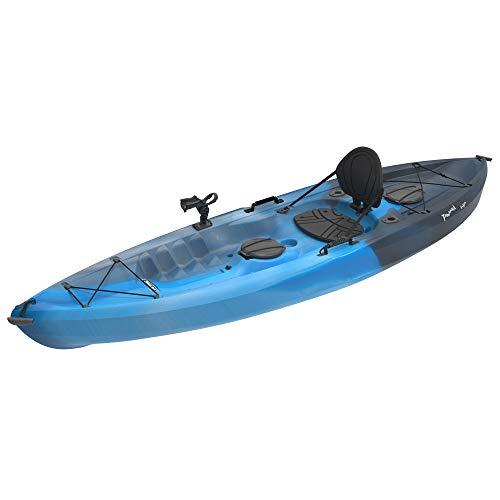 Lifetime Tamarack 100 Fishing Holiday Vacation River Lake Angler Kayak, Paddle Included (Angler Kayak)