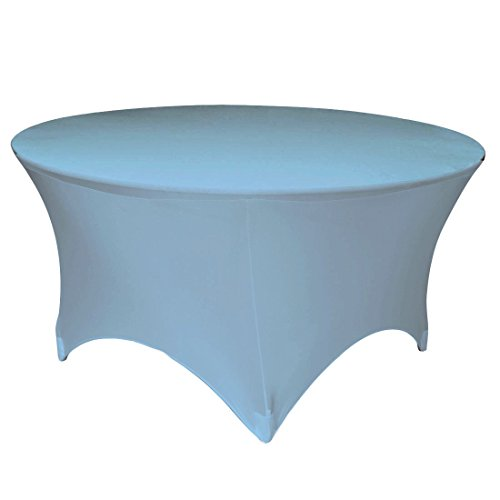 LA Linen Round Spandex Tablecloth 48