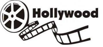 Top Selling Decals - Prices Reduced : Hollywood Movie Reel Old Antique Vintage Wall Sticker Size : 12 Inches X 20 Inches - 22 Colors Available]()