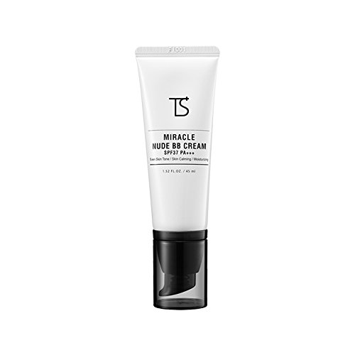 Discount [Trouble Solution] Miracle Nude BB Cream (SPF37+/PA+++) Natural Coverage, Sun Protection, Even Skin Tone (1. 35 fl. oz. / 40 ml)