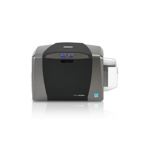 (Fargo DTC1250e Single Sided USB Card Printer with Supplies Bundle (50605))