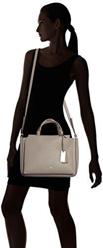 Calvin Klein Jeans Carri3 Duffle - Bolso con asas Mujer Gris - Grau (FUNGI 094)