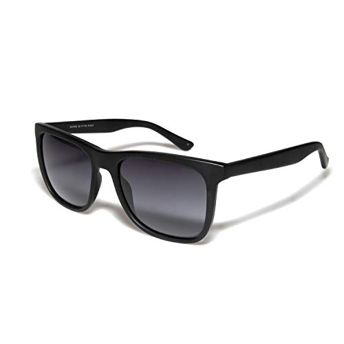 O-O Classic Polarized Sunglasses for Men Women, Horn Rimmed, UV400 Protection ()