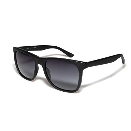 O-O Classic Polarized Sunglasses for Men Women, Horn Rimmed, UV400 Protection